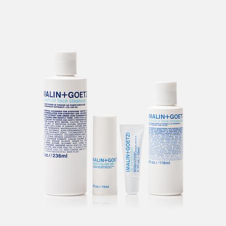 Набор по уходу за лицом и телом Malin+Goetz Skincare Essentials Set 4 Pieces