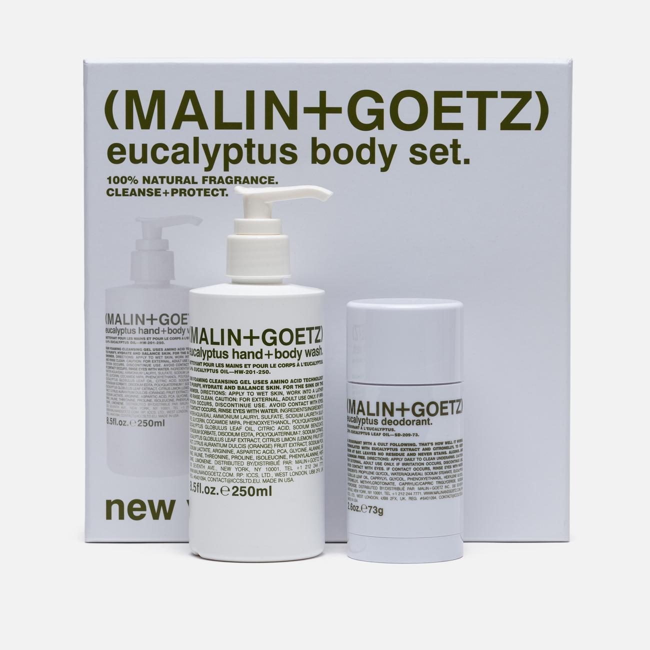 Набор по уходу за телом Malin+Goetz Eucalyptus Body Set