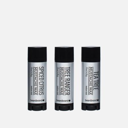 Набор воска для усов и бороды Beardbrand Silver Line 3 Pack