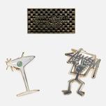 Набор значков Stussy HO16 Pin Set Assorted Colours фото- 4