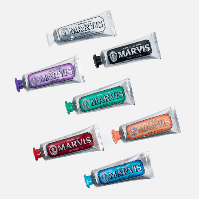 Набор зубных паст Marvis Flavour Collection 7x25ml