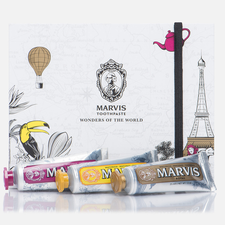 Набор зубных паст Marvis Wonders Of The World Set 3x25ml