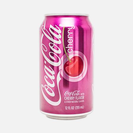 Газированная вода Coca-Cola Cherry 0.35l