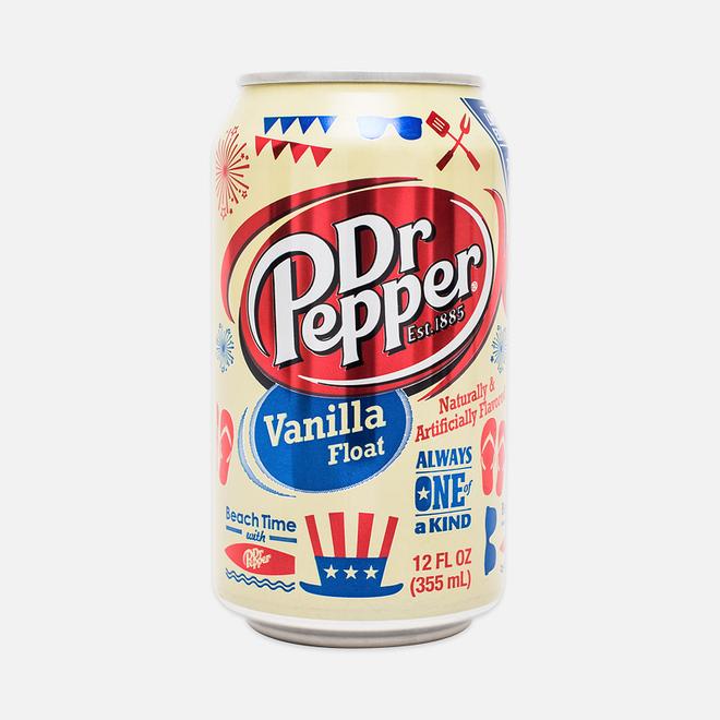 Газированная вода Dr Pepper Vanilla Float 0.35l
