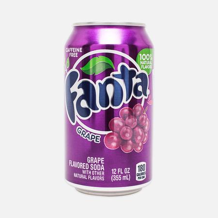 Газированная вода Fanta Grape 0.35l