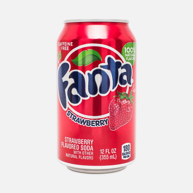 Газированная вода Fanta Strawberry 0.35l