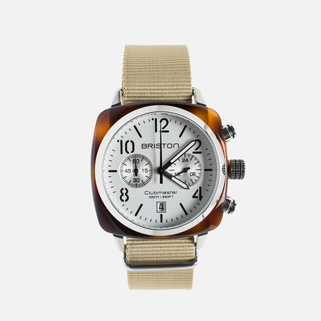 Briston Chrono Beige/White Watch