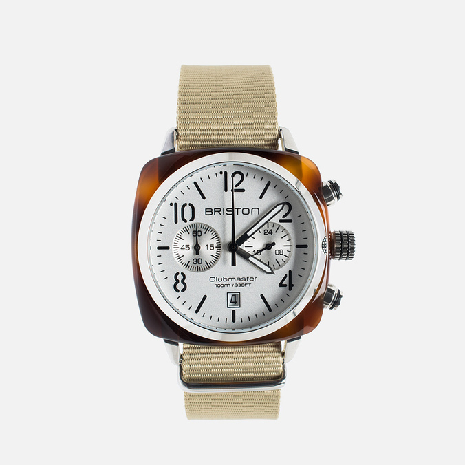 Наручные часы Briston Chrono Beige/White