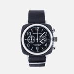 Наручные часы Briston Clubmaster Chrono Black фото- 0