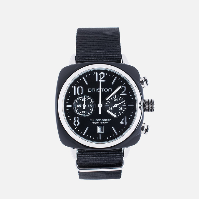 Наручные часы Briston Clubmaster Chrono Black