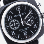 Наручные часы Briston Clubmaster Chrono Black фото- 2