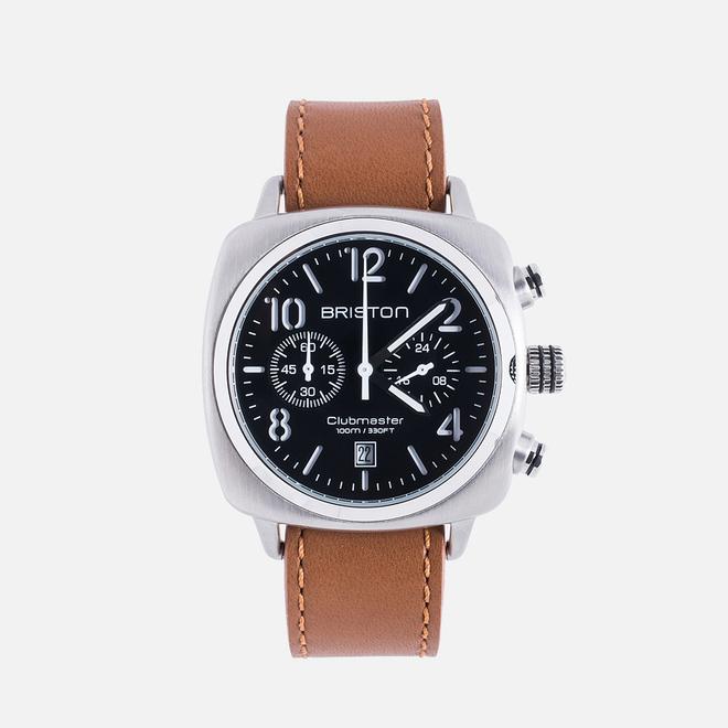 Наручные часы Briston Clubmaster Chrono Classic Steel Black/Silver