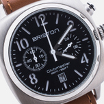 Наручные часы Briston Clubmaster Chrono Classic Steel Black/Silver фото- 2