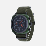 Наручные часы Briston Clubmaster Chrono Green Army фото- 1