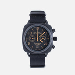 Briston Clubmaster Chrono Watch Matte Black photo- 0