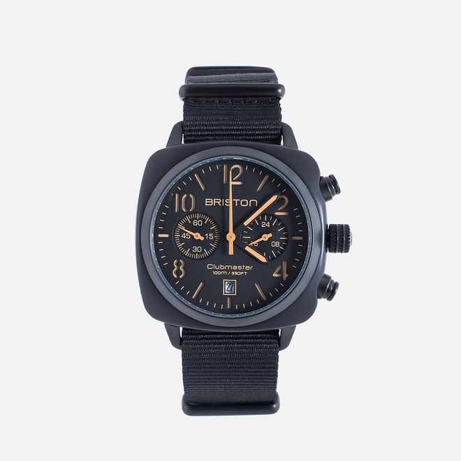 Наручные часы Briston Clubmaster Chrono Matte Black
