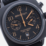 Наручные часы Briston Clubmaster Chrono Matte Black фото- 2