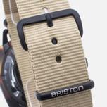 Briston Clubmaster Chrono Matte Watch Tortoise/Black/Khaki photo- 3