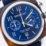Briston Clubmaster Classic Acetate Watch Navy Blue photo- 2