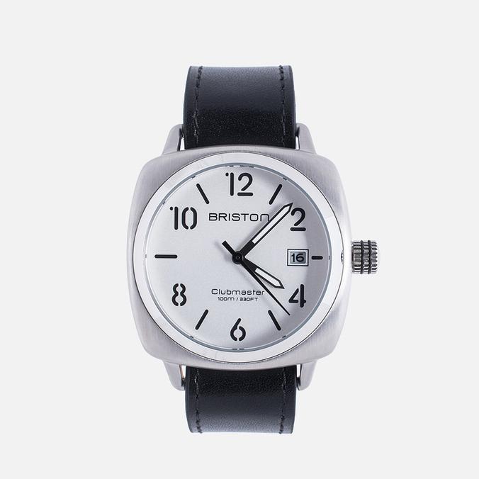 Наручные часы Briston Clubmaster Classic Steel HMS White