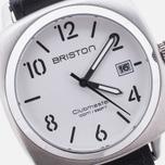 Наручные часы Briston Clubmaster Classic Steel HMS White фото- 2