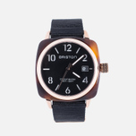 Наручные часы Briston Clubmaster HMS Tortoise Shell Rose Gold фото- 0