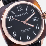 Наручные часы Briston Clubmaster HMS Tortoise Shell Rose Gold фото- 2