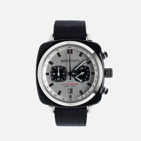 Briston Sport Chrono Day-Date Watch Black/White