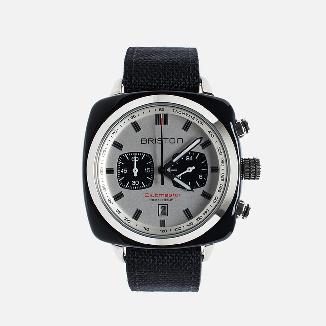Наручные часы Briston Sport Chrono Day-Date Black/White