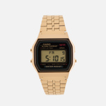 Наручные часы CASIO Collection A-159WGEA-1E Gold фото- 0