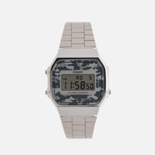 Наручные часы CASIO Collection A-168WEC-1E Silver/Grey Camo фото- 0
