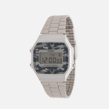 Наручные часы CASIO Collection A-168WEC-1E Silver/Grey Camo фото- 1