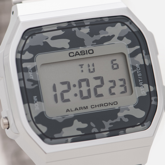Наручные часы CASIO Collection A-168WEC-1E Silver/Grey Camo
