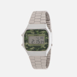 Наручные часы CASIO Collection A-168WEC-3E Silver/Green Camo фото- 1