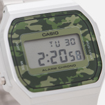 Наручные часы CASIO Collection A-168WEC-3E Silver/Green Camo фото- 2