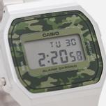 Наручные часы CASIO Collection A-168WEC-3E Silver/Green Camo фото- 2