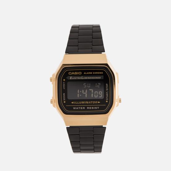 Наручные часы CASIO Collection A-168WEGB-1B Black/Gold