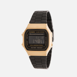 Наручные часы CASIO Collection A-168WEGB-1B Black/Gold фото- 1