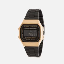 Наручные часы CASIO Collection A-168WEGB-1B Black/Gold фото- 1