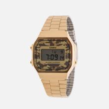 Наручные часы CASIO Collection A-168WEGC-5E Gold/Grey Camo фото- 1