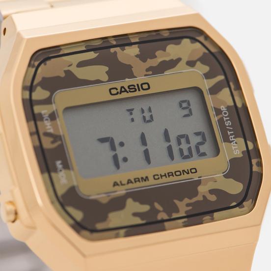Наручные часы CASIO Collection A-168WEGC-5E Gold/Grey Camo