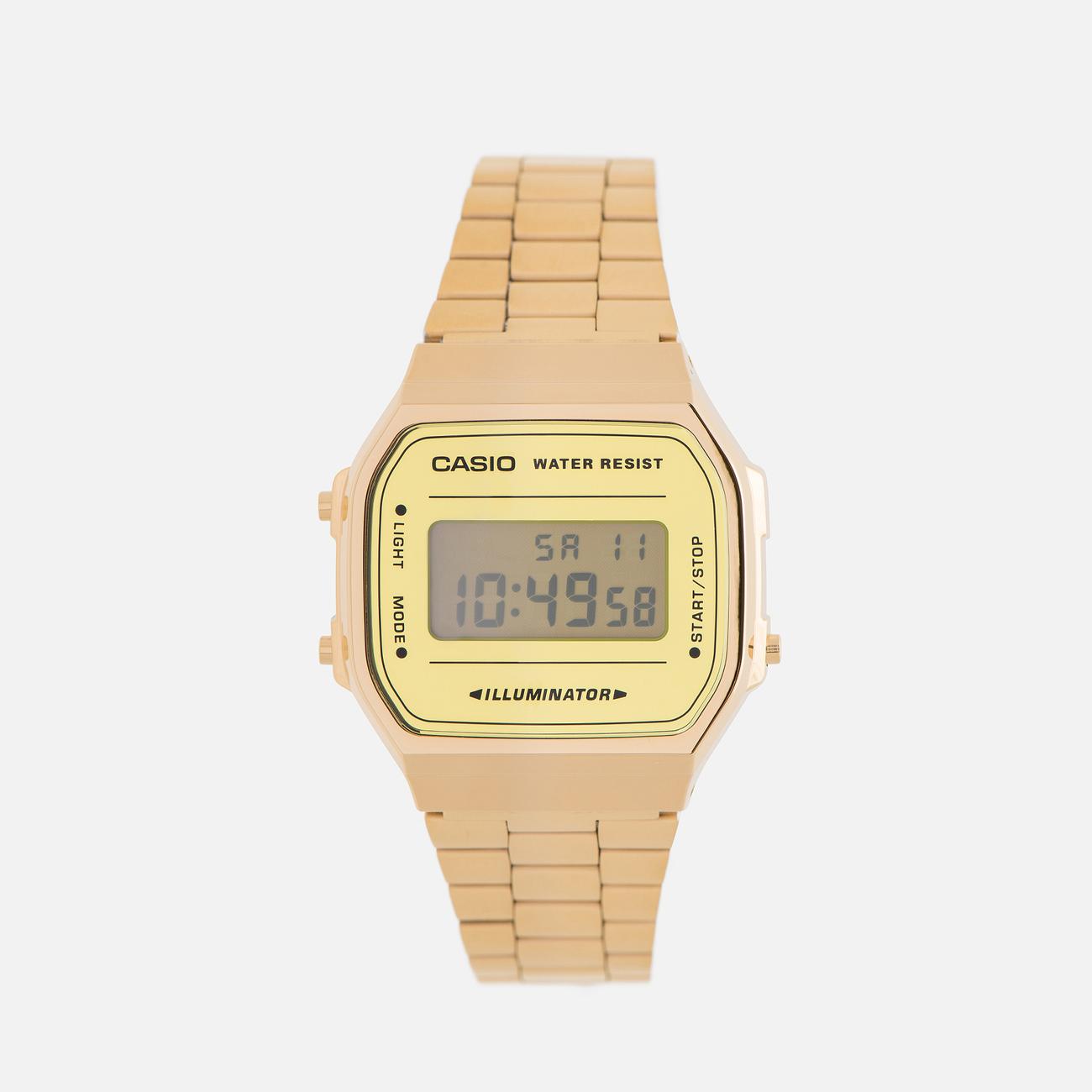 Наручные часы CASIO Collection A-168WEGM-9E Gold