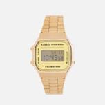 Наручные часы CASIO Collection A-168WEGM-9E Gold фото- 0