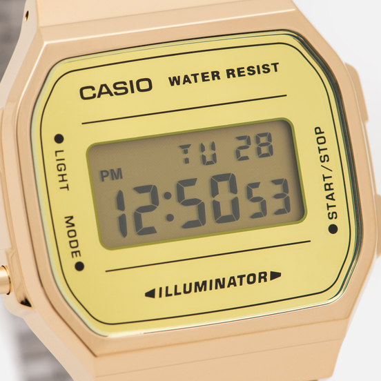 Наручные часы CASIO Collection A-168WEGM-9E Gold