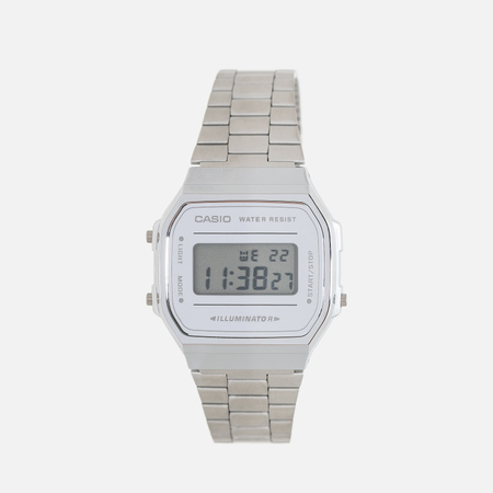 Наручные часы CASIO Collection A-168WEM-7E Silver