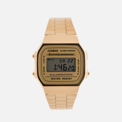 Наручные часы CASIO Collection A-168WG-9 Gold/Yellow
