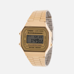 Наручные часы CASIO Collection A-168WG-9 Gold/Yellow фото- 1