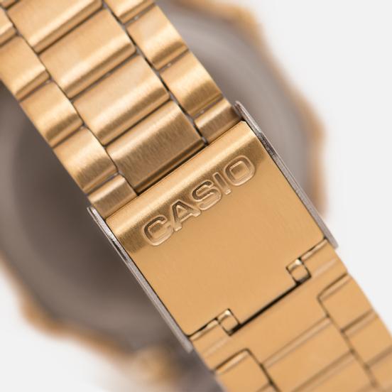 Наручные часы CASIO Collection A-168WG-9 Gold/Yellow