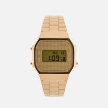 Наручные часы CASIO Collection A-168WG-9B Gold/Rhombus Yellow фото- 0