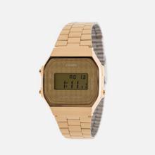 Наручные часы CASIO Collection A-168WG-9B Gold/Rhombus Yellow фото- 1